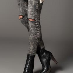 Topuklu Siyah Bot 2015 Fox Ayakkabı Modelleri