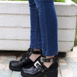 Zarif Siyah 2015 Marjin Ayakkabı Modelleri