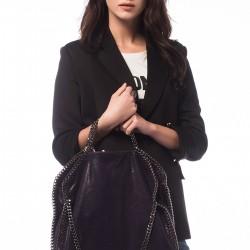 Zincirli Siyah 2015 Stella McCartney Çanta Modelleri