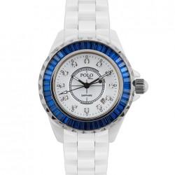 İç Kısmı Mavi Polo Croco Bayan Saat Modelleri
