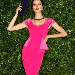 İddialı Pembe Elbise Modelleri
