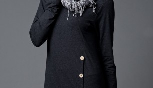 Şık Tunik Siyah Kıyafet Modelleri
