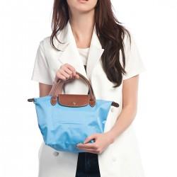 Açık Mavi Çanta Longchamp Çanta Modelleri