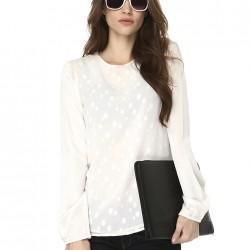 Beyaz Bluz Yeni Koton Modelleri