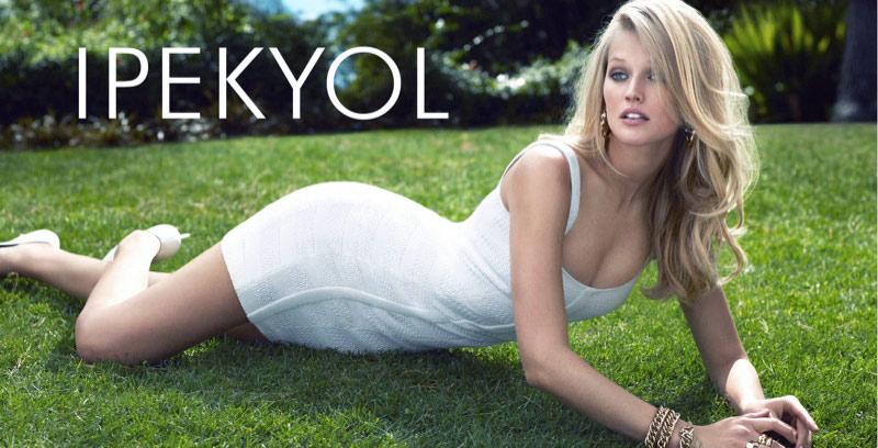 Beyaz Elbise 2015 İpekyol İlkbahar - Yaz Modelleri