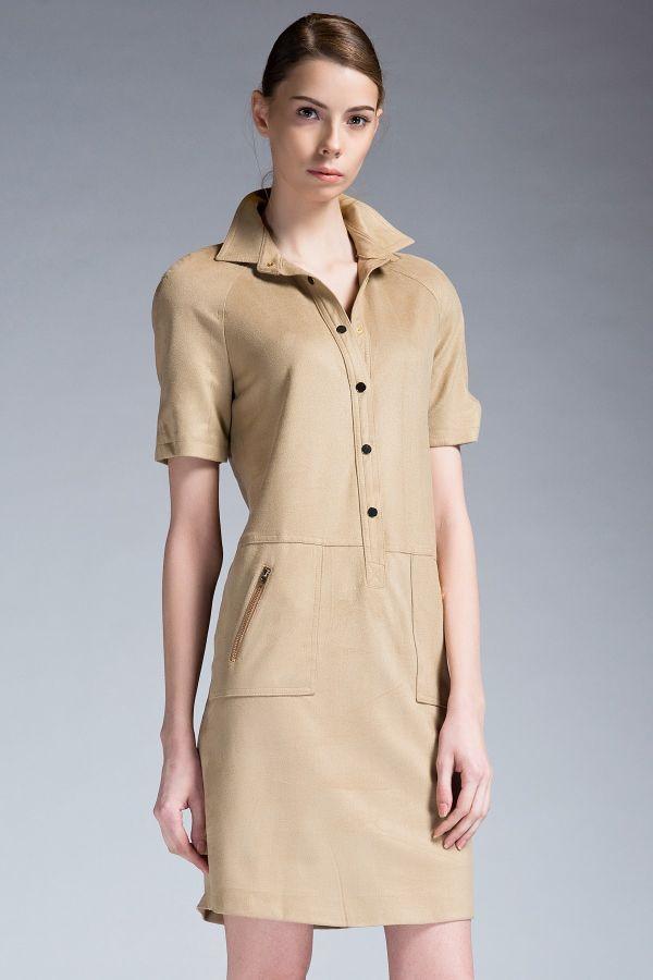 Camel Elbise 2015 İpekyol İlkbahar - Yaz Modellerii