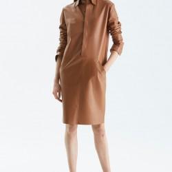 Deri Tunik Ralph Lauren 2015 Sonbahar Modelleri