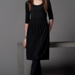 Elbise Siyah Kıyafet Modelleri