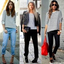 Gösterişli 2015 Breton Bluz Modelleri
