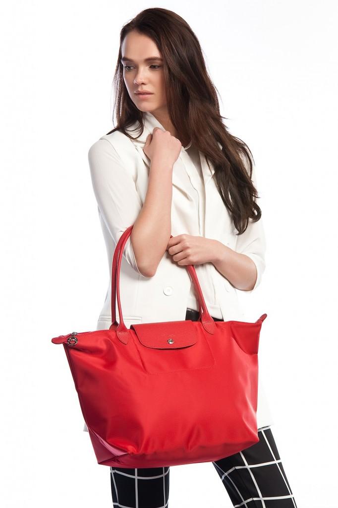Kırmızı Longchamp Çanta Modelleri
