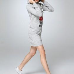 Kapşonlu Elbise 2015 Dilvin Modelleri