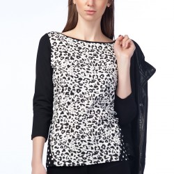 Leopar Desenli Bluz Betty Barclay 2015 Modelleri