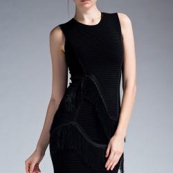 Siyah Elbise 2015 İpekyol Modelleri