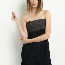 Siyah Elbise Lee Cooper Yeni Sezon Modelleri