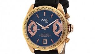 Siyah Kayışlı Polo Croco Bayan Saat Modelleri