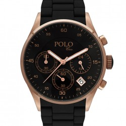 Siyah Polo Croco Bayan Saat Modelleri