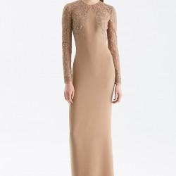 Taş Süslemeli Elbise Ralph Lauren 2015 Sonbahar Modelleri