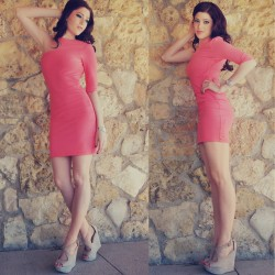 Tarz Pembe Elbise Modelleri