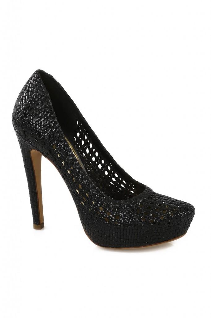 Topuklu Siyah 2015 Prada Ayakkabı Modelleri