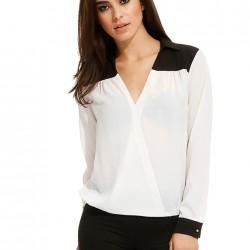 V Yaka Bluz Yeni Koton Modelleri