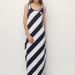 Çizgili Elbise U.S. Polo 2015 Modelleri