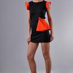 İddialı Yeni Sezon Kolları Volanlı Elbise Modelleri