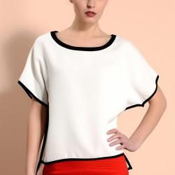 Beyaz Adil Işık Bluz Modelleri