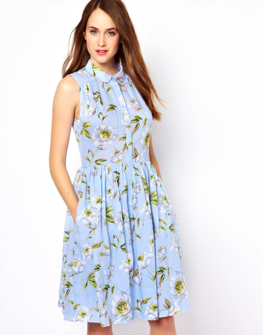b5e17c407 Cep Detaylı Çiçekli Yeni Sezon Bayramlık Elbise Modelleri »