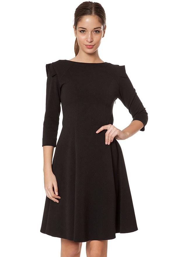 Askılı Düz Mini Elbise