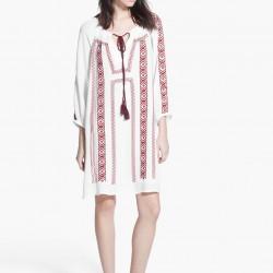 Etnik Desenli Yeni Sezon Mango Elbise Modelleri