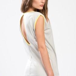 Gri Kolsuz Park Bravo 2015 Bluz Modelleri