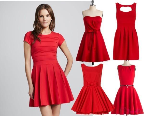 d364677a3dced Kırmızı Yeni Sezon Bayramlık Elbise Modelleri »