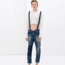 Kot Bayanlar İçin Askılı Pantolon Modelleri