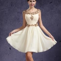 Süslemeli Yeni Sezon Kloş Elbise Modelleri