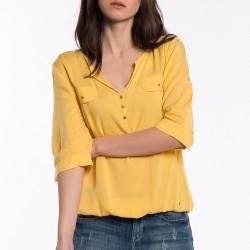 Sarı Mavi 2015 Bluz Modelleri