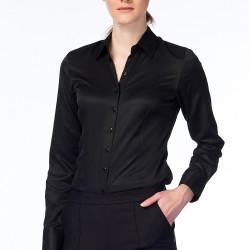 Siyah Gömlek N-Value Yeni Sezon Modelleri
