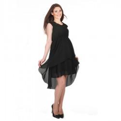 Siyah Yeni Sezon Hamile Abiye Modelleri