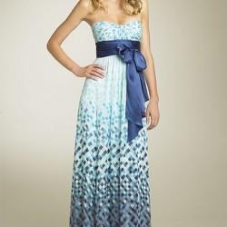 Straplez Yeni Sezon Bayramlık Elbise Modelleri
