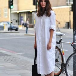 Trend Gömlek Elbise Modelleri