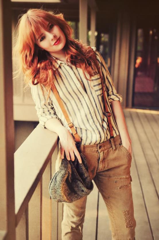 Zarif Bayanlar İçin Askılı Pantolon Modelleri