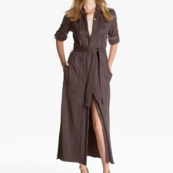 Zarif Gömlek Elbise Modelleri