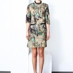 Desenli 2015 Kısa Elbise Modelleri