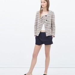 Desenli Zara Ceket Modelleri