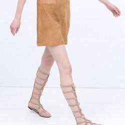 Yeni Zara 2015 Sandalet Modelleri
