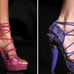 Şık Yazlık Topuklu Ayakkabı Modelleri