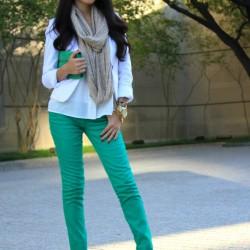 2015 Yeşil Pantolon Modelleri
