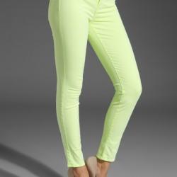 Açık Sarı 2015 Neon Pantolon Modelleri