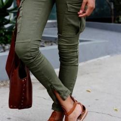 Asker Yeşili Pantolon Modelleri