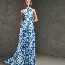 Desenli Zarif Pronovias Parti Elbisesi Modelleri