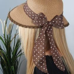Fiyonk Detaylı Hasır Şapka Modelleri